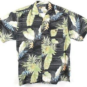 Joe Marlin Men's Hawaiian Aloha Floral Shirt   E24